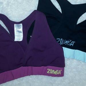 🏃♀️TWO Zumba Sports Bra's!🏃♀️